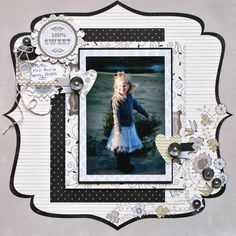 Jenny used the Country Boutique collection from Fancy Pants Designs