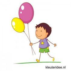 Gymles met ballonnen voor kleuters 2, kleuteridee.nl