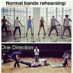 ONE DIRECTION NORMAL........PLEASE WE MIGHT AS WELL SAY PIGS CAN FLY LOL LOVE 1D