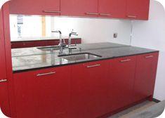 Küchenrückwand Kitchen Island, Kitchen Cabinets, Home Decor, Island Kitchen, Decoration Home, Room Decor, Cabinets, Home Interior Design, Dressers
