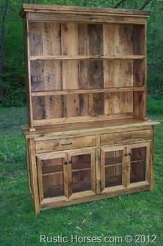 kitchen hutch, I like everything except the chicken wire used for the bottom doors.
