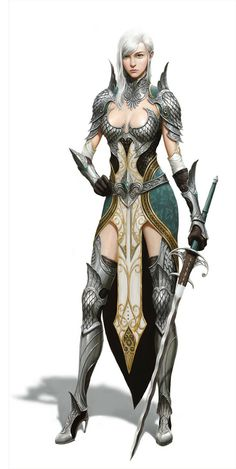 fantasy art characters - warrior