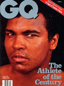 THE GQ COVERS PORTFOLIO:  Muhammad Ali