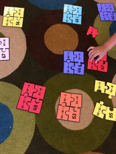 Fun way to practice decomposing numbers.