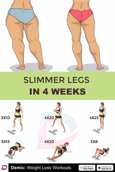 Demicapp workout fitness legs slimm bodyfit legs slimmer weeks 21 awesome running motivational quotes for your next run Gym Workout Tips, Fitness Workout For Women, Butt Workout, At Home Workouts, Fitness Legs, Health Fitness, Fitness Diet, Workout Plans, Workouts For Legs