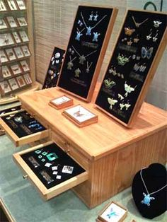 craft show display earring card shelf craft show. Black Bedroom Furniture Sets. Home Design Ideas