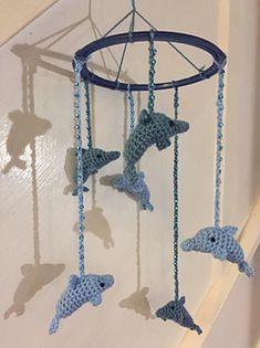 Ravelry: Dolphin Mobile pattern by Toglet