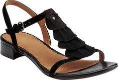 Clarks Ruffle Sandals
