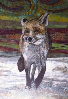 Blog — Rachel Wright Textile Artist Sewing Machine Embroidery, Embroidery Art, Fabric Beads, Fabric Art, Felt Pictures, Animal Quilts, Thread Painting, Textile Artists, Ark