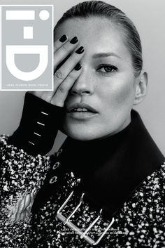 Kate Moss on i-D's 35th anniversary cover, shot by Alasdair McLellan