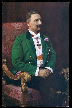 Kaiser Wilhelm at Windsor Castle