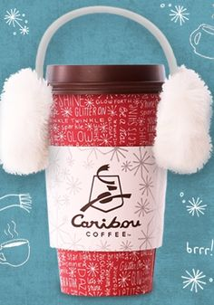 Caribou Coffee.  I love the mountain lodge decor and the vanilla white chocolate mocha is amazing!!
