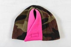 Camo CaZella Ponytail Hat