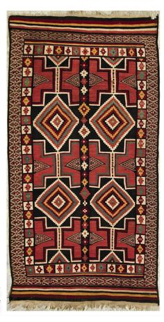 Africa | Carpet from the Khenchela region of Algeria | 2nd quarter of the 20th century | Wool