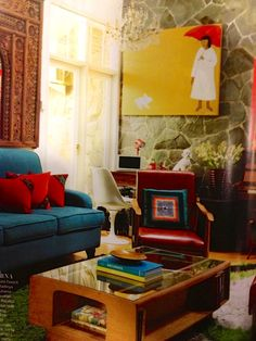Martha Stewart Living Indonesia March 2013 Jakarta Vintage home cc @Luthfi Hasan in love w/ your vintage mood ^^