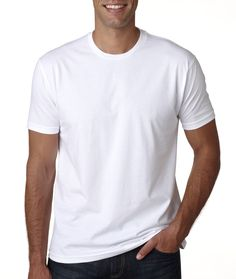 Classic White men's t shirt