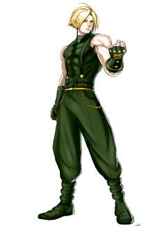 Game Character, Character Concept, Concept Art, Character Design, Art Of Fighting, Fighting Games, Snk King Of Fighters, Beat Em Up, G Man