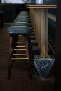 Coffee Machines by the Thousand at Electrics Galore - barista Architecture Restaurant, Restaurant Design, Restaurant Bar, Cubist Architecture, Japanese Bar, Coffee Bar Design, Masculine Interior, Cafe Interior, Brewery Interior
