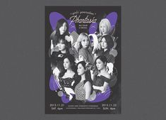 girls' generation 4th tour Phantasia on Behance