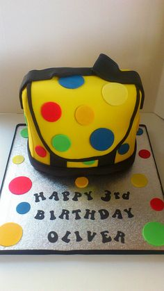 Mr Tumbles Yellow Spotty Bag | Flickr - Photo Sharing!