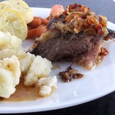 Bacon Pot Roast by Frugal Antics of a Harried Homemaker