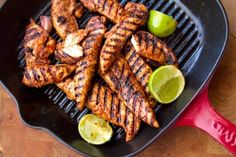 Spicy Paprika Lime Chicken Eat Drink Paleo-This spicy paprika and lime grilled chicken is a new addition to our BBQ repertoire. Take your taste buds on a little holiday to the Caribbean Mexico or Spain! Real Food Recipes, Cooking Recipes, Healthy Recipes, Kid Recipes, Ketogenic Recipes, Lime Chicken Recipes, Chicken Eating, Summer Grilling Recipes, Sushi