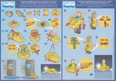 Safety Card Azimut SuperJet RRJ-95B (2)