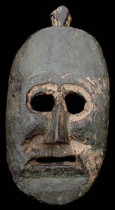 Mask from Nepal Middle Hills