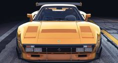 If the FIA hadn't shut down Group B after just a few short years, maybe the Ferrari 288 GTO would have raced. And it might have looked like these renderings.