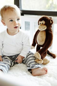 Cloud B SALE: Marvin the Monkey with soothing sounds : Great BAby Gift!