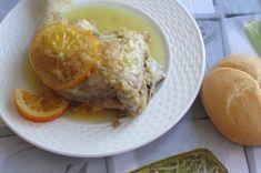 Greckie smaki: Kurczak z pomarańczą