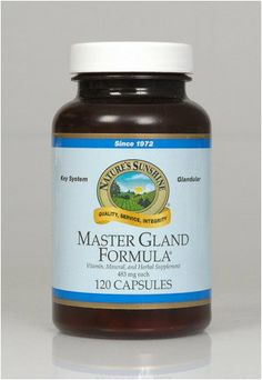 Master Gland Capsules (120)(Improved) Nature's Sunshine,