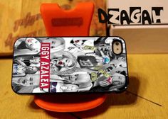 Iggy Azalea Collage case cell phone for iPhone 4/4S, iPhone 5/5S/5C and Samsung Galaxy S3/S4/S5