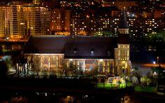 Вечерний Калининград Mansions, House Styles, Home, Decor, Decoration, Manor Houses, Villas, Ad Home, Mansion