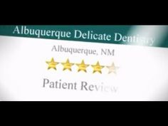 Albuquerque Delicate Dentistry 5 Star Review from a patient, Albuquerque Family Dentist, Learn more at: http://www.abqdd.net/ or by calling 505–293–3451.  In this video, another Albuquerque Delicate Dentistry patient describes their experience with this leading Albuquerque Dental office. Practice specialties include cosmetic dentistry, dental implants, reconstructive dentistry, crowns, bridges, night guards, gum treatment, veneers. Accepting new patients.