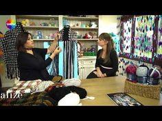 Alize Country & Fashion Boucle:Dokuma Tekniği ile Etol ve Atkı Yapımı- Making Stole and Scarf - YouTube