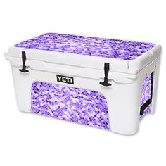 MightySkins Protective Vinyl Skin Decal for YETI Tundra 65 qt Cooler wrap cover sticker skins Stained Glass >>> Continue to the product at the image link.
