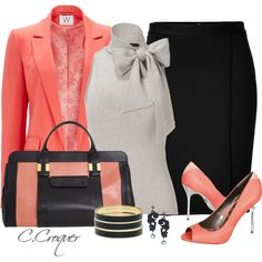 Lets Do Coral Contest by ccroquer on Polyvore