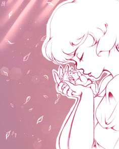 Pink diamond Steven mother and child