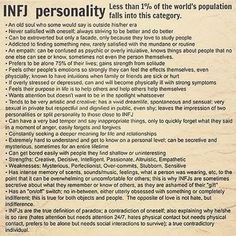 just been tagged in this. Never heard of it. But This is me to a T   #infjpersonality #infjprobz