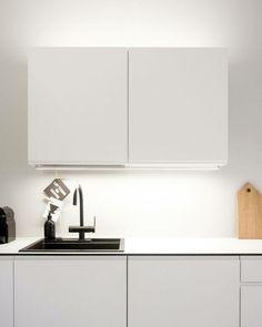 Töölö-keittiö valkoisena