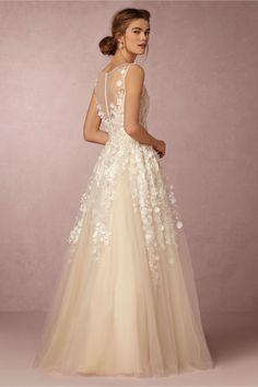 BHLDN Ariane Gown in Bride Wedding Dresses at BHLDN
