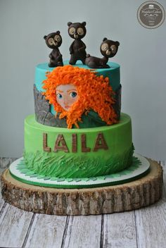 Brave - Cake by Magda's cakes