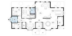 Fagervik Plan1 960x485 Scandinavian HouseFloor PlansHouse PlansScandinavian HomeBlueprints For HomesHouse Floor Design