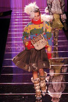 John Galliano, Autumn/Winter, 2002,  Ready-to-Wear