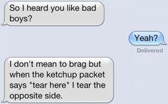 iPhone SMS - Bad boy