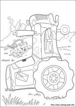 Monsters Inc Coloring Pages On Book