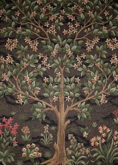 Tree of Life tapestry design by William Morris