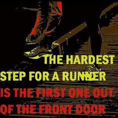 First few steps are most difficult