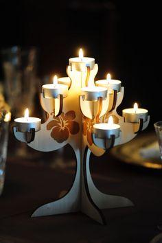 Hawaiian candelabra